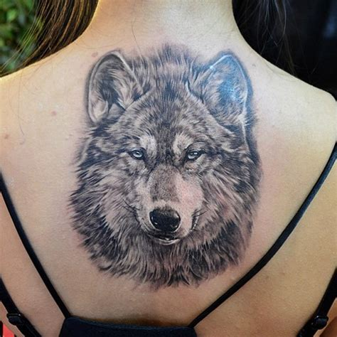 tattoo back wolf 76 meaningful wolf tattoo designs ideas for back