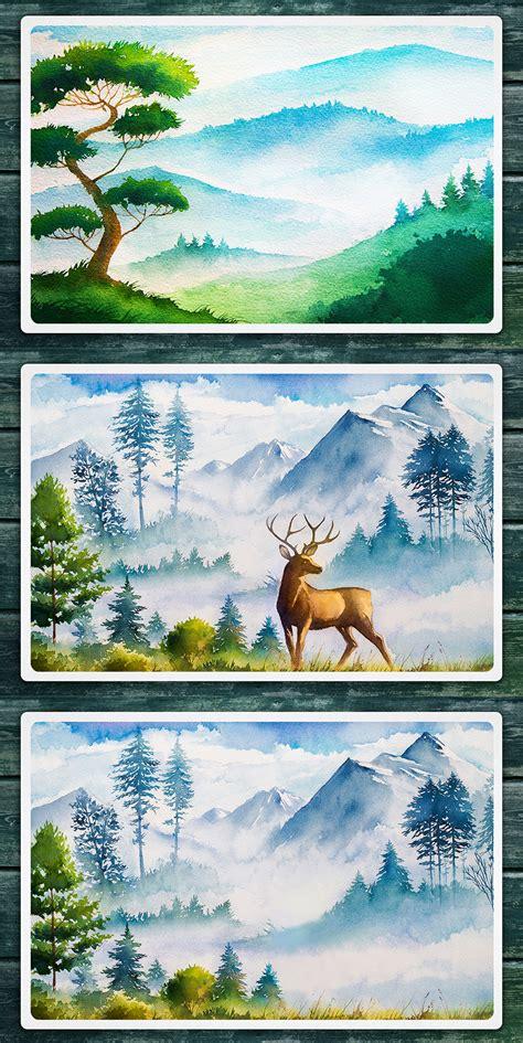 Watercolor Landscape Design Software Watercolor Landscape Design Software 28 Images Site