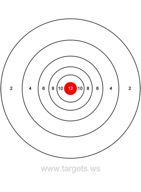 printable high power rifle targets shooting targets search results calendar 2015