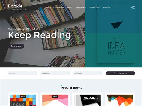 themes bookstore 15 the best book store wordpress themes in the world 2017