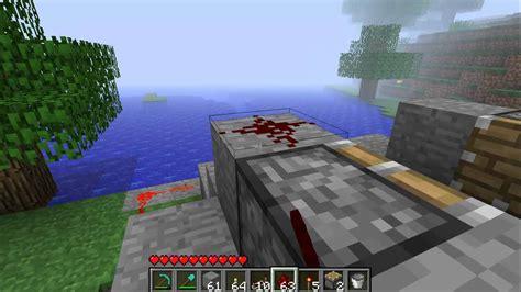 minecraft boat piston piston boat dock tutorial minecraft beta 1 7 youtube