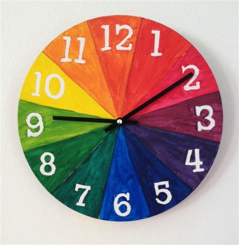 Tertiary Colors by Color Wheel For Kids Make A Cool Clock Art For Kids And