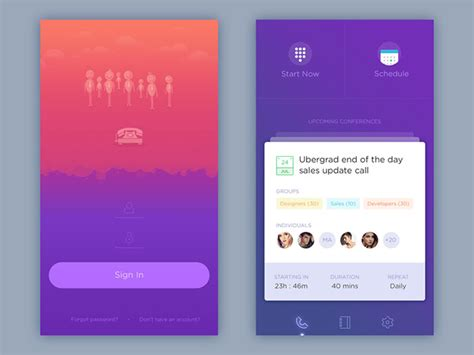 application design user friendly user interface design inspiration 40 ui design exles