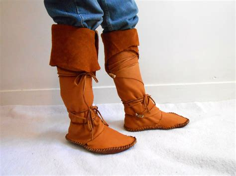 Handmade American Boots - handmade american boots moccasin boots custom made to