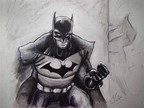 dark knight batman drawing mcorderroure deviantart