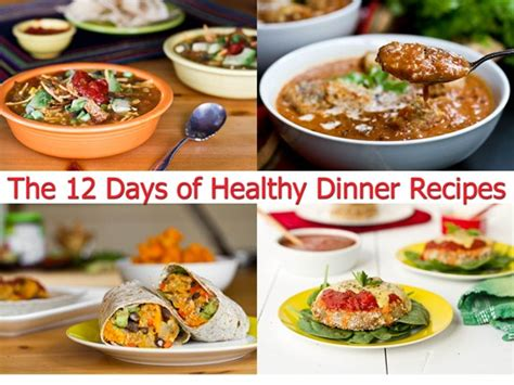 best dinner recipes of all time dinner recipes of all time the 12 days of healthy dinner