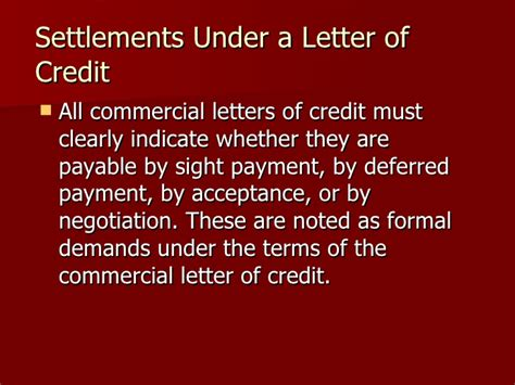 Letter Of Credit Expiration Letter Of Credit