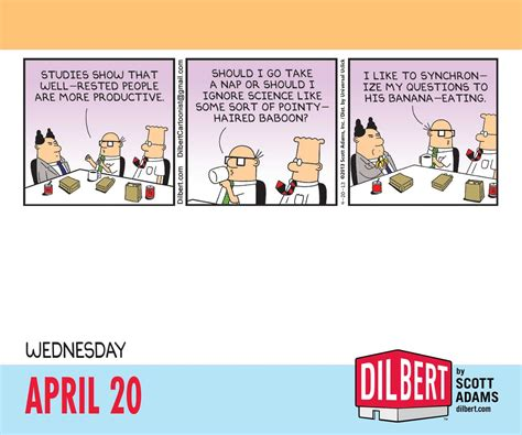 Calendar Day To Day Dilbert 2016 Day To Day Calendar