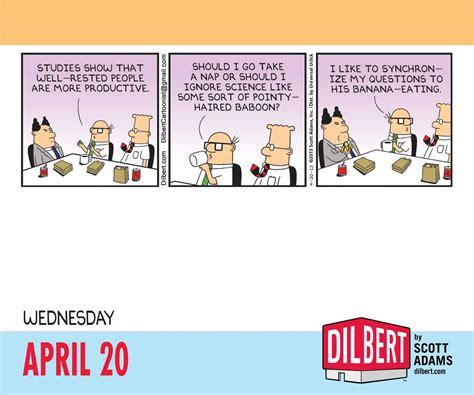 Dilbert Calendar Dilbert 2016 Day To Day Calendar