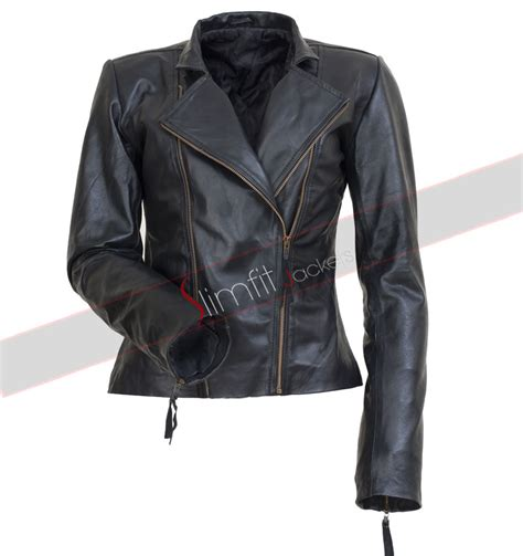 Jaket Dasbon chrissy teigen black leather jacket