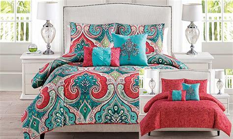Groupon Comforter Set by Casablanca Comforter Set Groupon Goods
