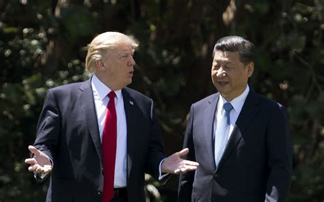 donald trump xi trump drops china bashing during warm xi summit world