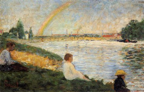 georges seurat most famous paintings rainbow georges seurat wikiart org encyclopedia of