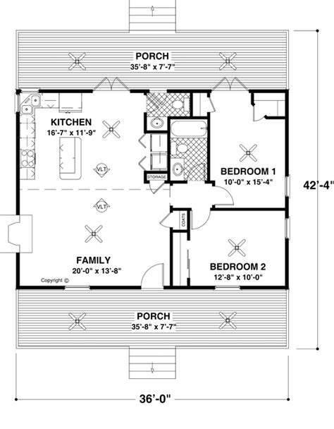 Small House Plans And Floor Plans For Affordable Home Tiny House Layout Plan