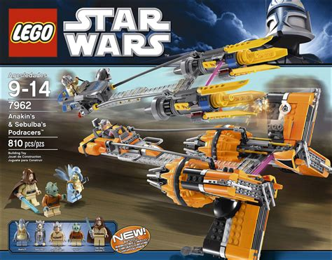 Carribean Ransel 06hp745 Set 3in1 7962 anakin s sebulba s podracers lego wars photos review caract 233 ristiques et prix