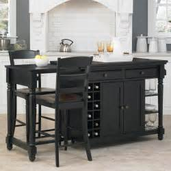 Kitchen Island With Chairs by Home Styles Grand Torino 3 Kitchen Island Stools