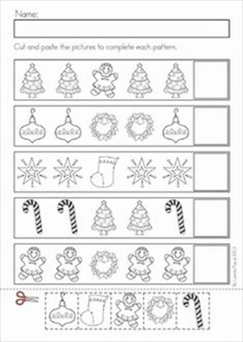 christmas pattern maths christmas math literacy worksheets activities no prep
