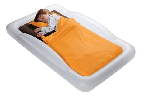 indoor toddler inflatable travel sleeping bed carrying