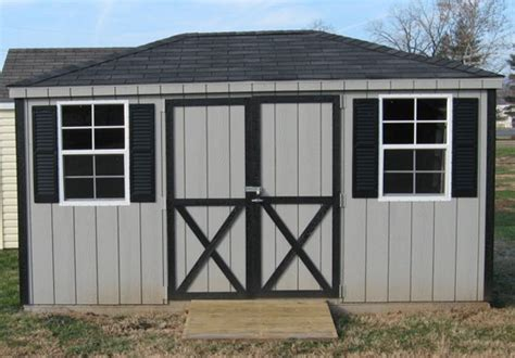 garden shed plans hip roof how to build diy blueprints pdf