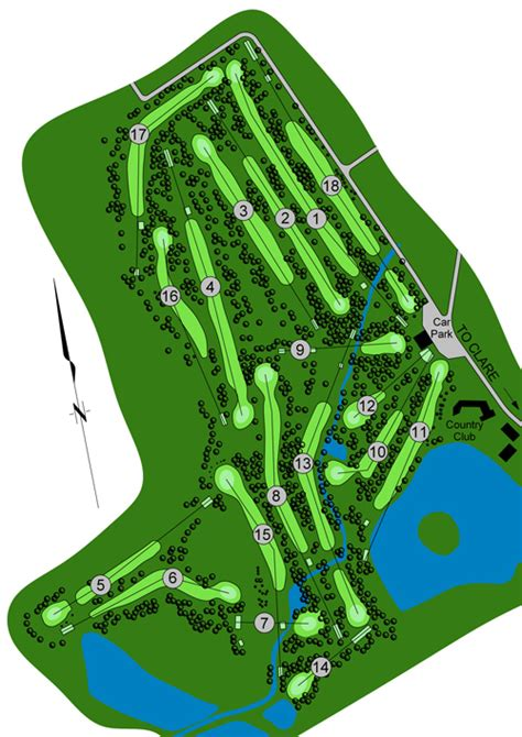 golf course layout design club course membership