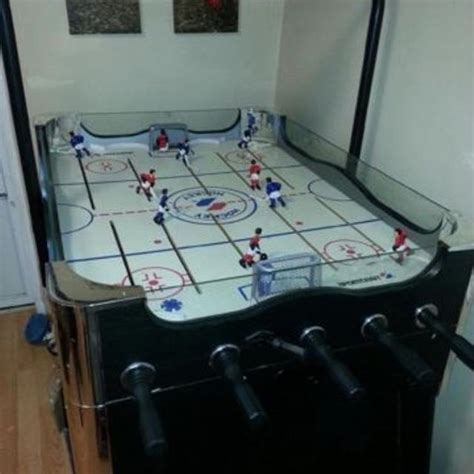 rod hockey table for sale find more sportcraft electronic rod hockey table ont