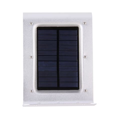 outdoor security solar powered motion sensor 16 led light
