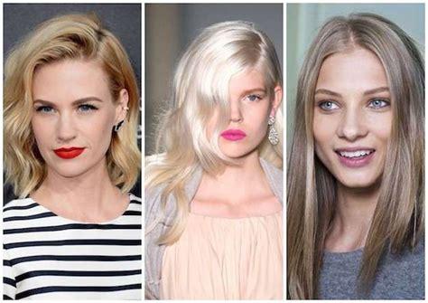 tonos de rubios de moda para 2016 tonalidades de rubio para el cabello tendencias color