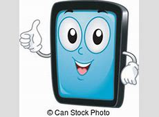 Mascot lungs tablet. Mascot illustration of the lungs ... Lungs After Smoking Clip Art