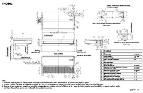 condizionatore a soffitto daikin climatizzatore multisplit pensile a soffitto daikin fhq c