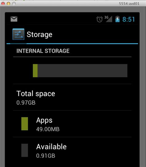 insufficient storage android android failed insufficient memory