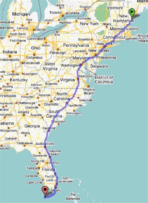 road map us eastern seaboard 2007 stealing the steel city intro