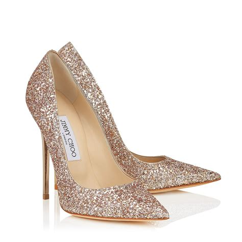 sparkly shoes jimmy choo shadow course glitter anouk pumps