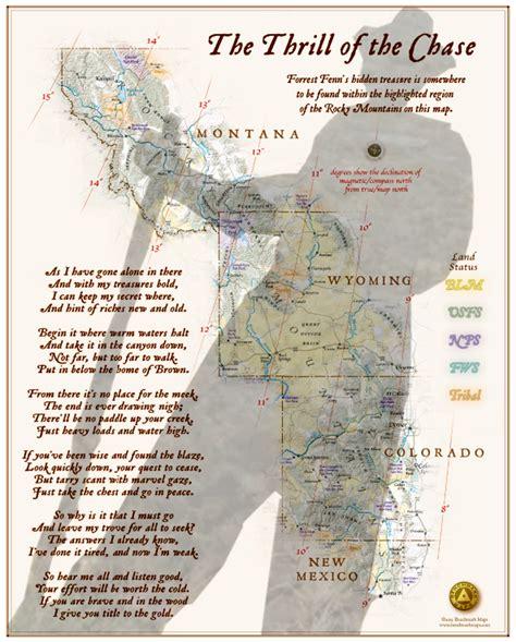 fenn treasure map forrest fenn on of randy bilyeu ongoing hunt for 2