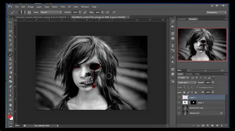 photoshop tutorial in hindi full episodes photoshop hindi tutorials episode 51 skull and blood
