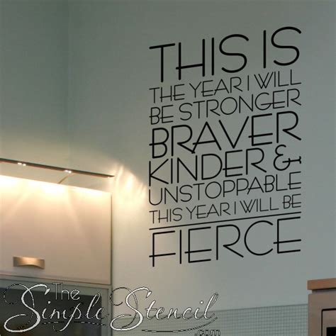 Inspirational Quote Wall