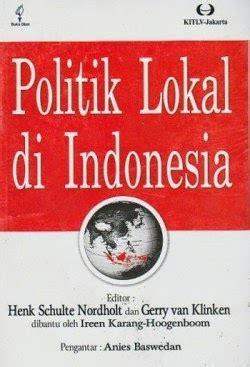 Pemerintahan Politik Lokal Di Jerman Dan Prancis toko buku sang media politik lokal di indonesia