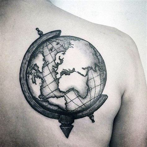 the world tattoo designs best 25 globe tattoos ideas on world travel
