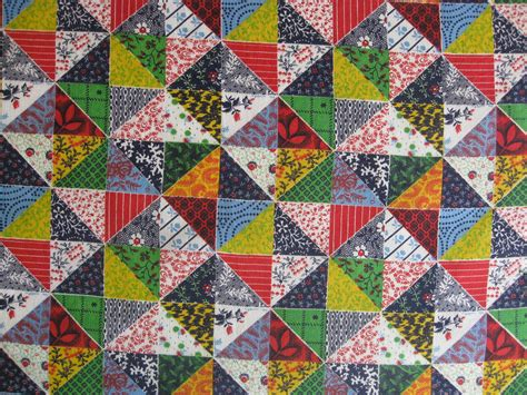 Patchwork Print Fabric - patchwork print fabric vintage supplies multi color patchwork