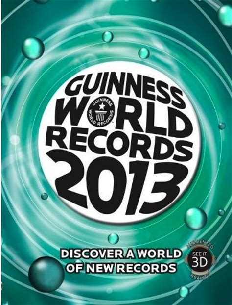guinness book of world records pictures guinness world records 2013 goes augmented reality wired