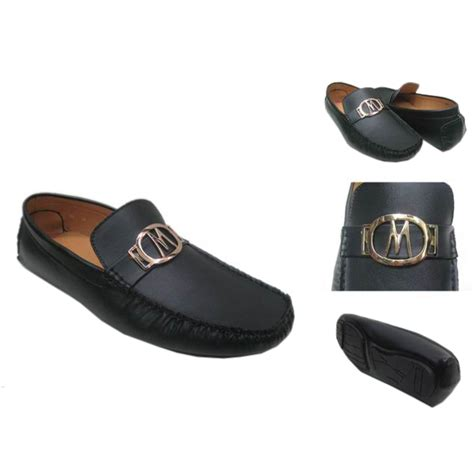 michael kors logo flat large black shoes