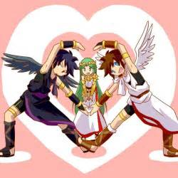 Pittoo pit and palutena video gamesta dark pit kid icarus