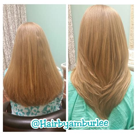 haircut before and after long hair before and after long layers haircut yelp