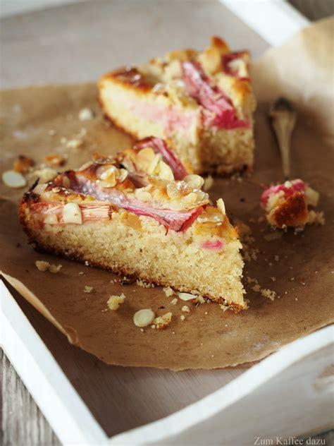 kuchen mit margarine mandel buttermilch kuchen mit rhabarber zum kaffee dazu