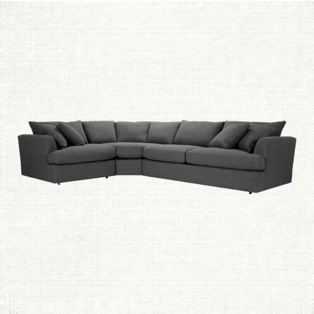 Arhaus Emory 3 Piece Sectional Sofa Pinterest