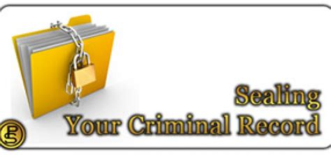 Getting A Criminal Record Sealed Criminal Record Getting In Your Way