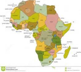 carte de l afrique images stock image 17890304