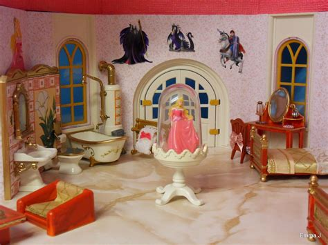 beauty and the beast bedroom disney hotel by emma j playmobil collectors club