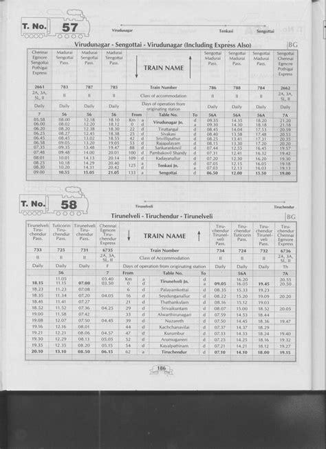 Time Table For Mba Chennai by Chennai Mrts Timings Chennai Chennai Passenger
