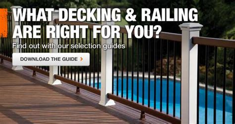 trex decking railing lighting at the home depot