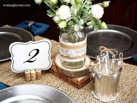 wedding table decorations crafts 8 rustic wedding tables the bright ideas